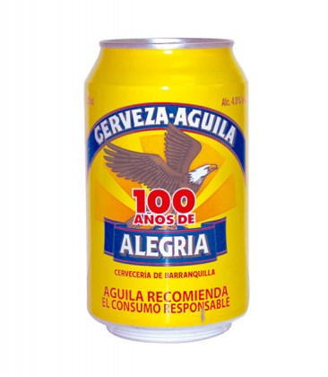 18 birra aguila 330ml
